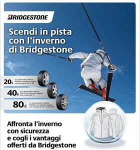BRIDGESTONE Ti RIMBORSA  FINO a 80€